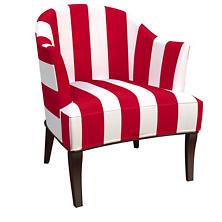 Alex Red Lyon Chair