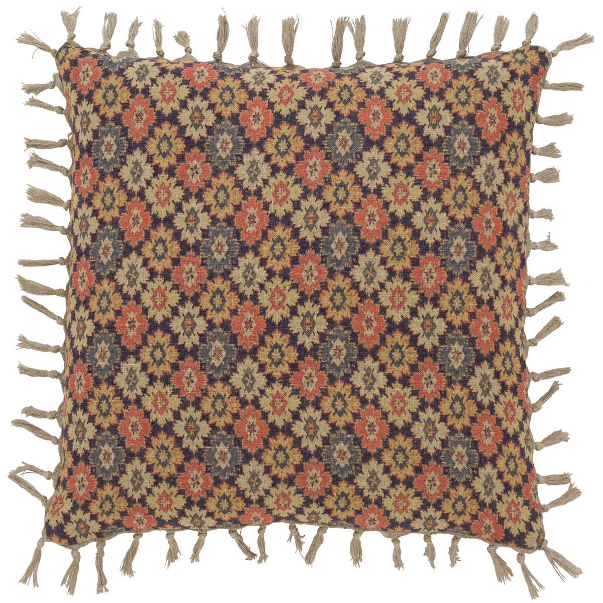Anatolia Linen Floral Pillow