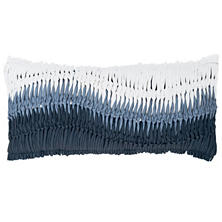Anchor Hitch Blue Decorative Pillow