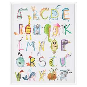 Animal ABC's Wall Art