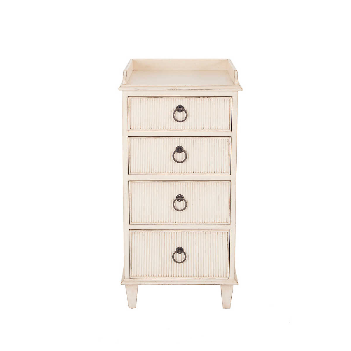 Antique White Adrian Nightstand Furniture