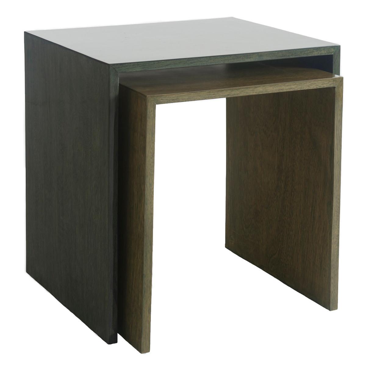 Arbor Evergreen Nesting Table