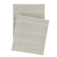 Archer Grey Woven Cotton Throw