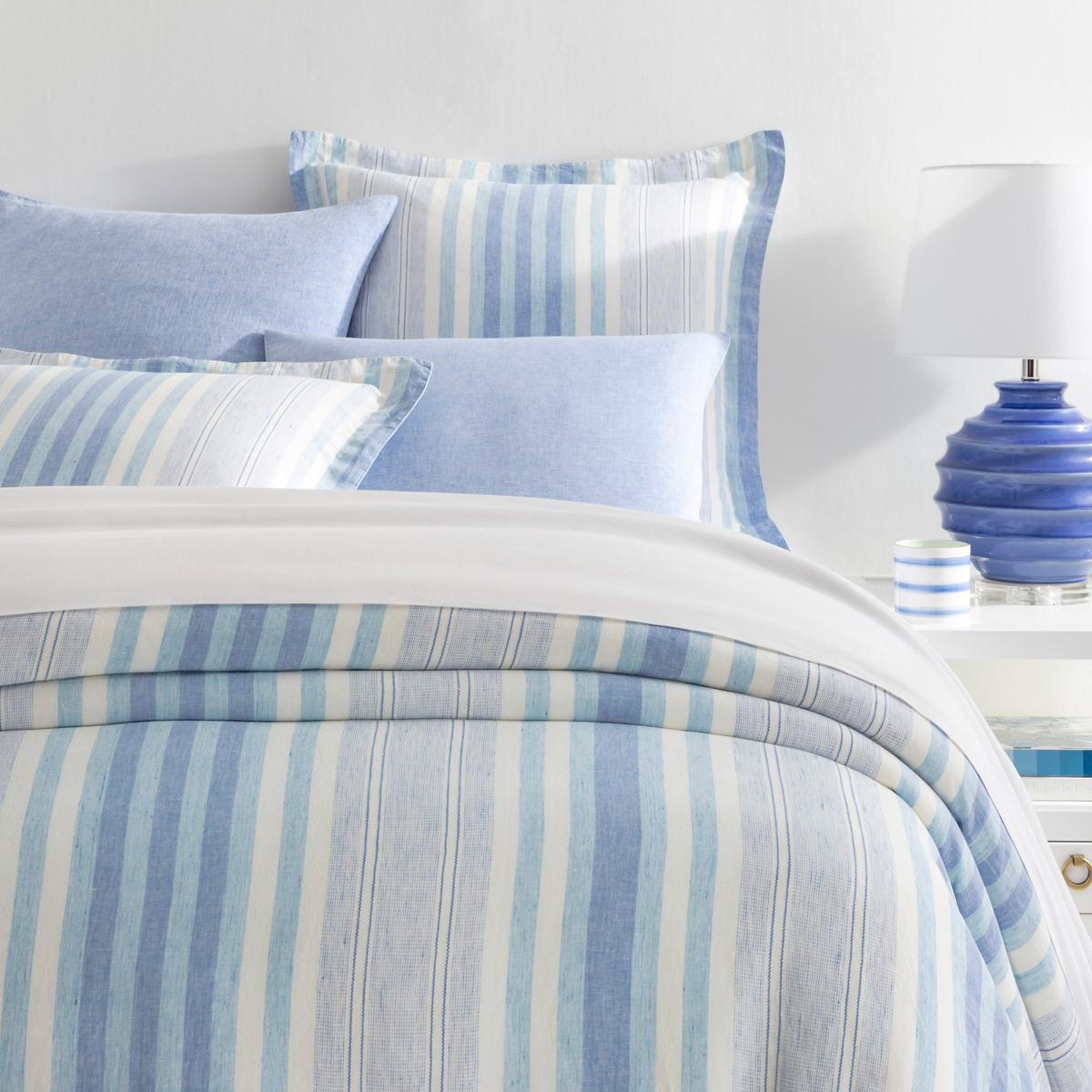 Arden Stripe Linen Duvet Cover