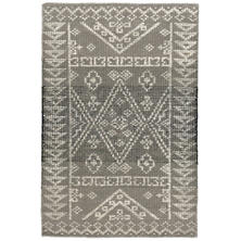 Arelli Hand Knotted Wool/Viscose Rug