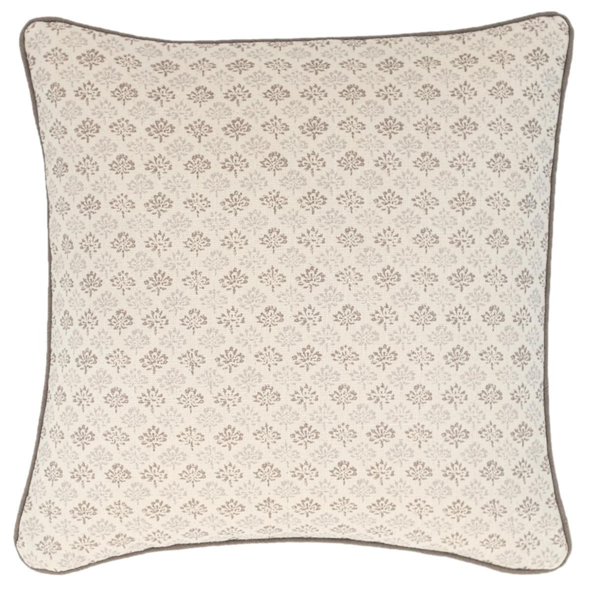 Aria Linen Zinc Decorative Pillow
