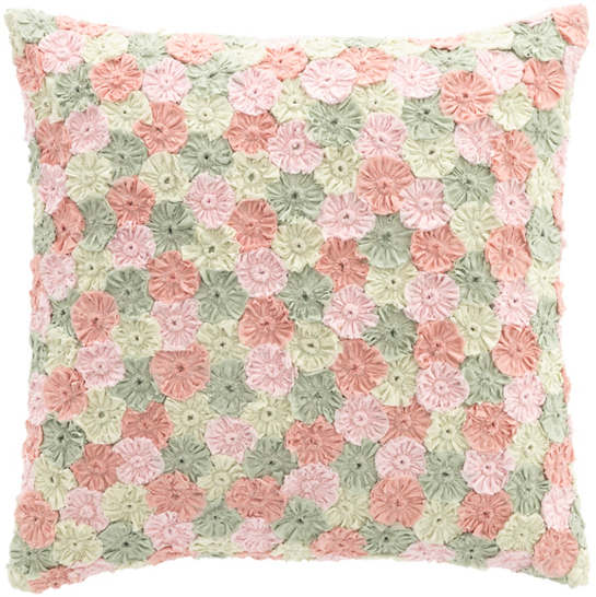 Arielle Embroidered Decorative Pillow