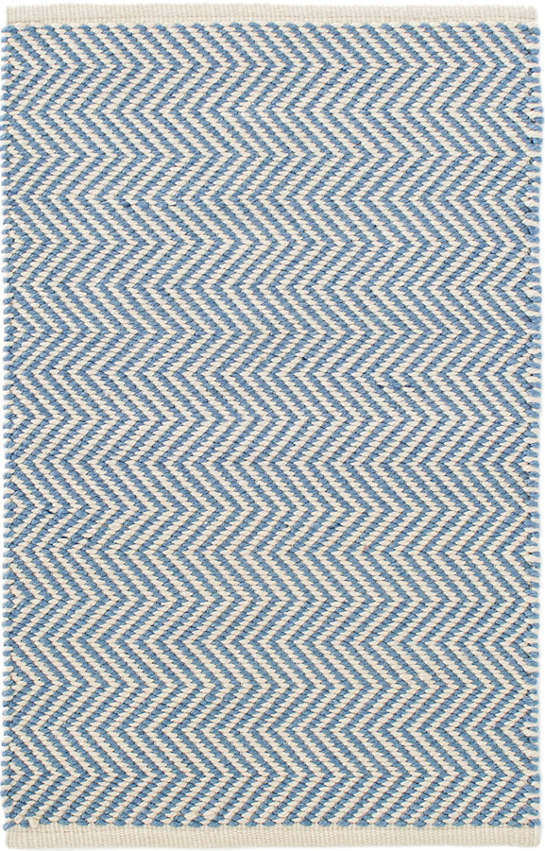 Arlington French Blue/Ivory Indoor/Outdoor Rug