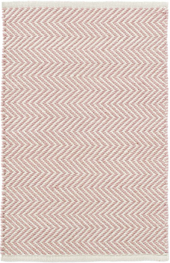 Arlington Pink/Ivory Indoor/Outdoor Rug | The Outlet
