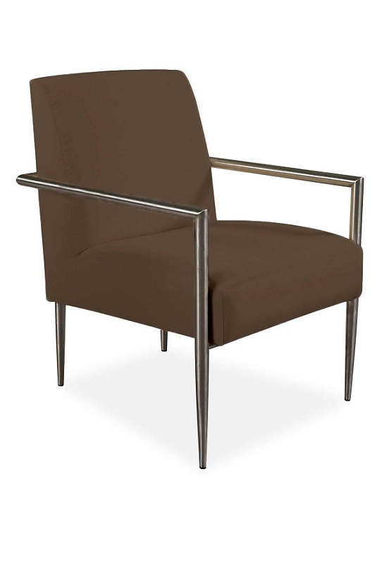 Armed And Stylish Outdoor Chair Charcoal Heathered