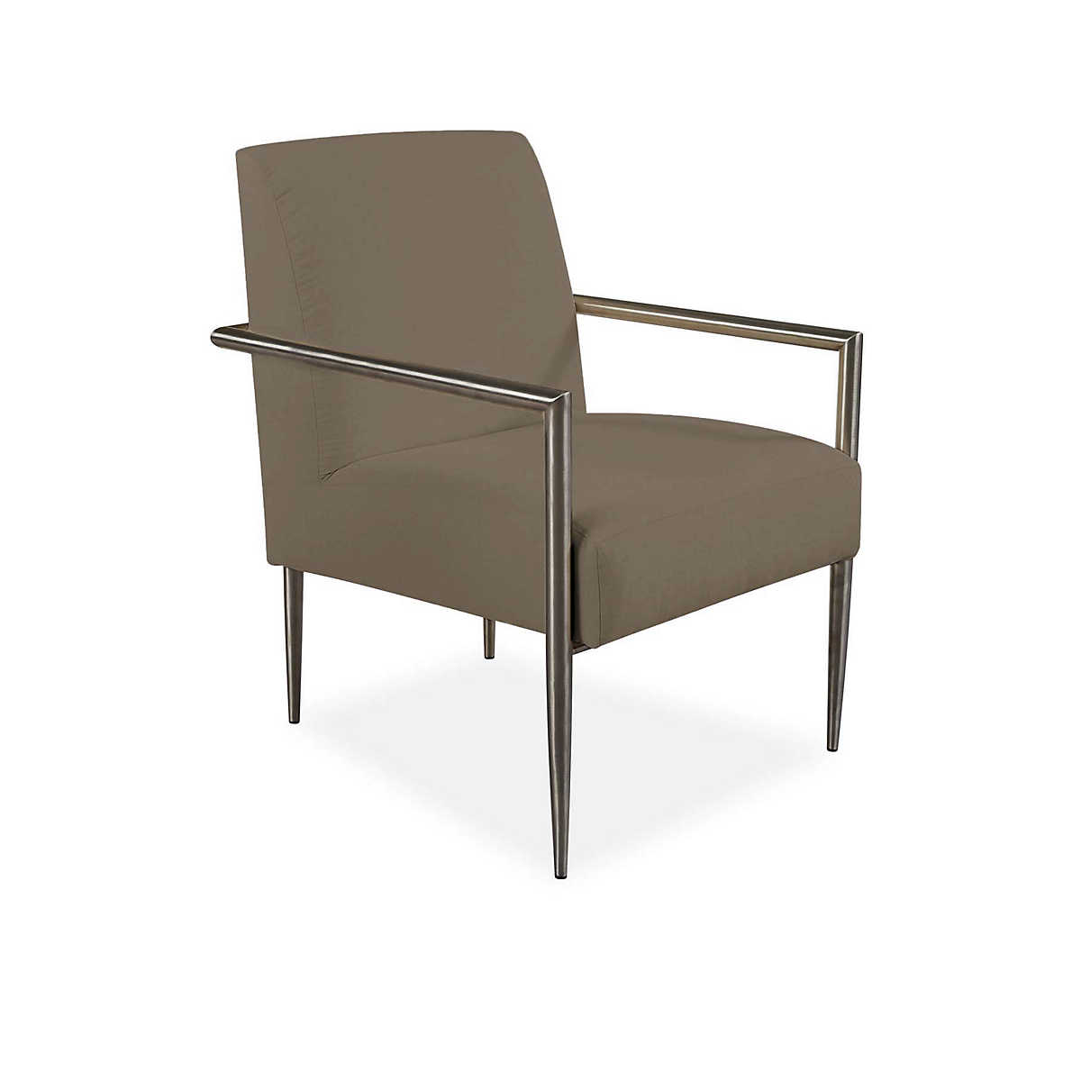 Armed And Stylish Outdoor Chair Platinum Canvas Furniture