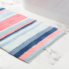Aruba Stripe Bath Rug