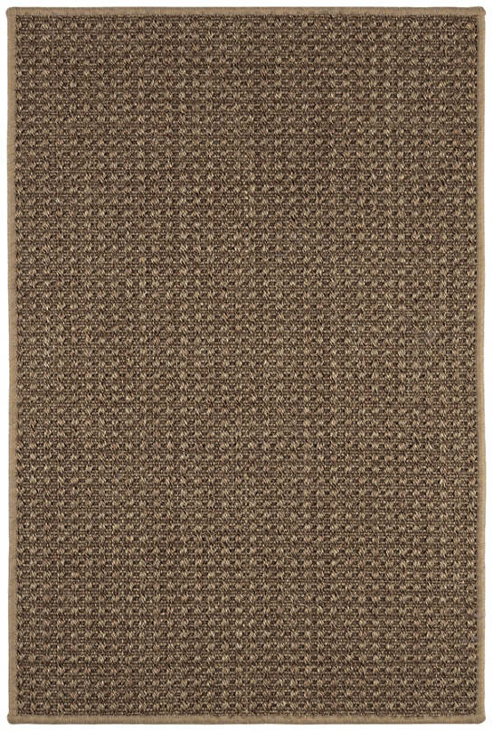 Ashburn Bark Woven Sisal Custom Rug With Pad