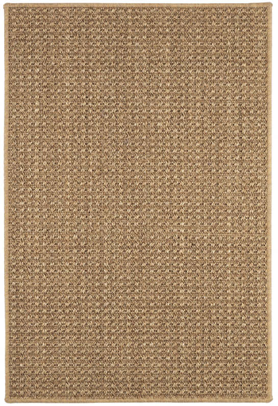 Ashburn Copper Woven Sisal Custom Rug With Pad
