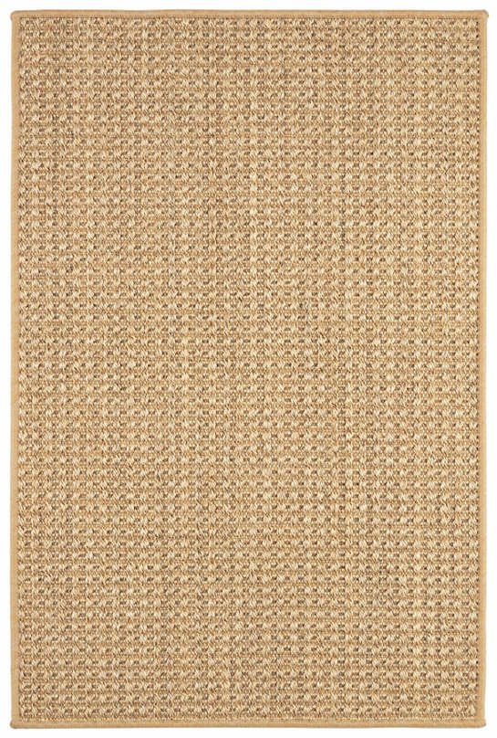 Ashburn Natural Woven Sisal Custom Rug With Pad
