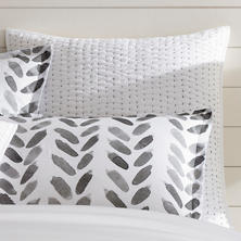 Atlantic Shale Quilted Sham