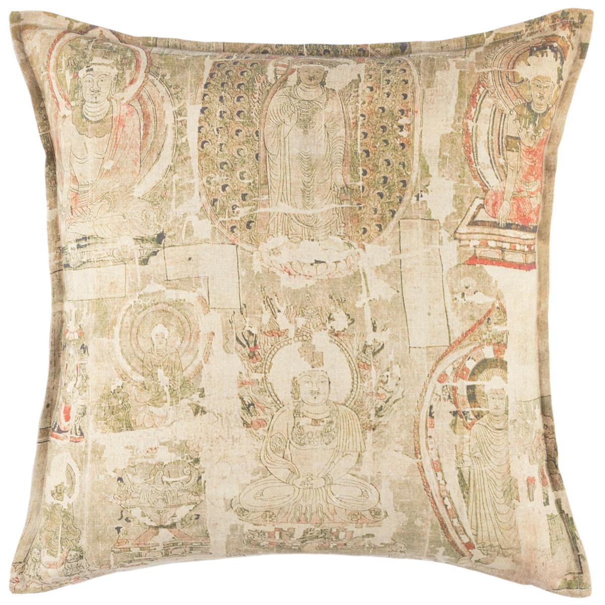 Aura Linen Decorative Pillow