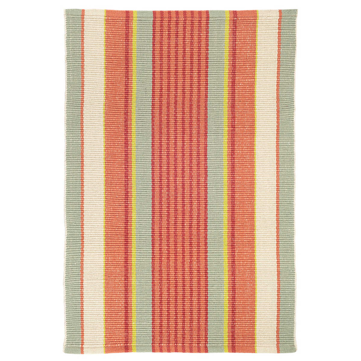Autumn Stripe Woven Cotton Rug Dash Amp Albert