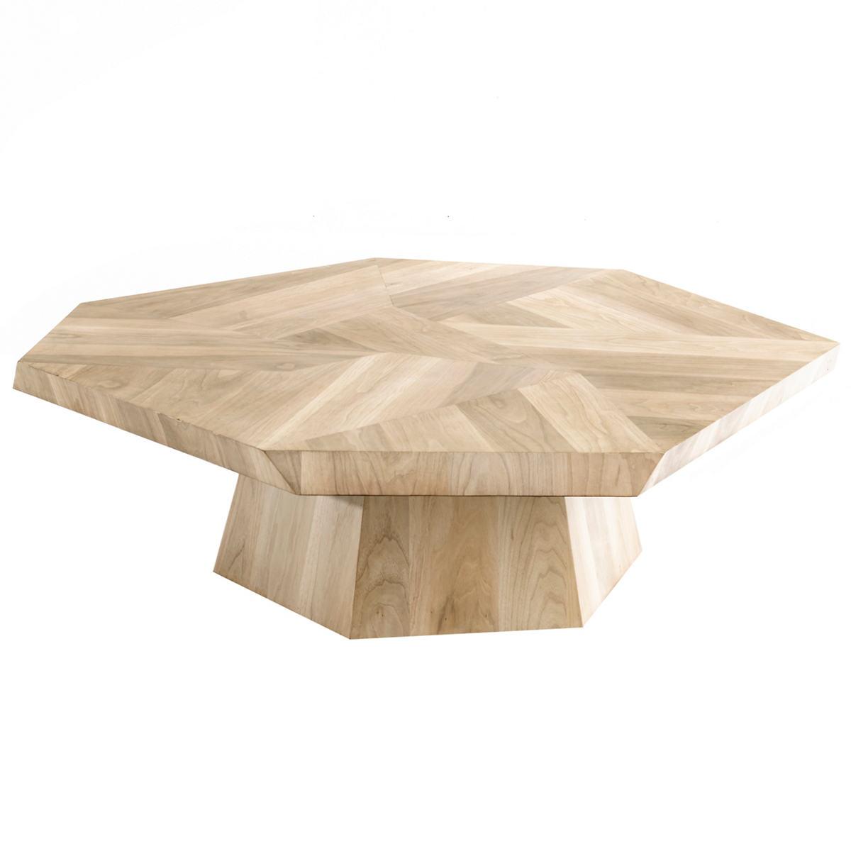 Avalon Ashen Walnut Coffee Table