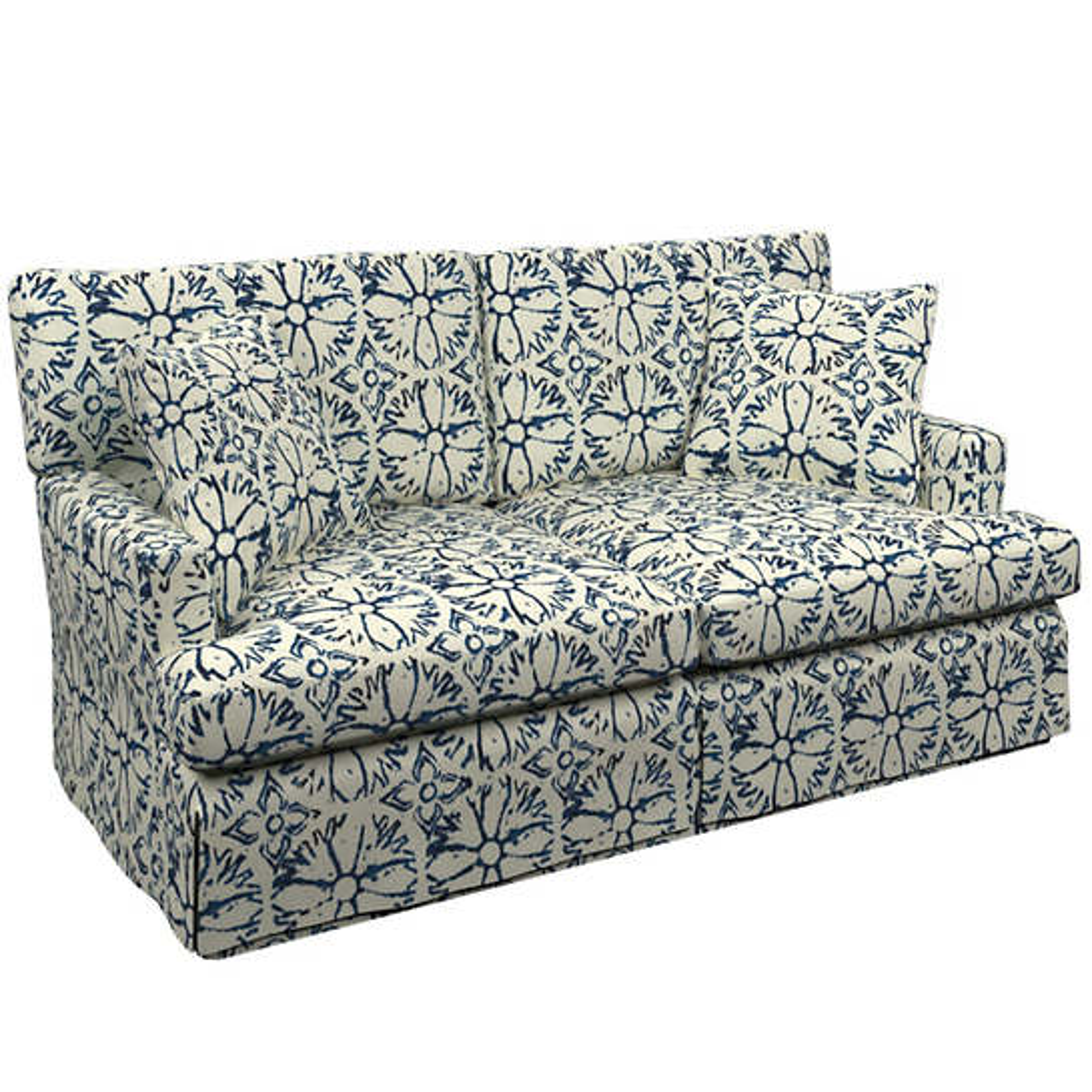 Aylin Linen Saybrook 2 Seater Slipcovered Sofa