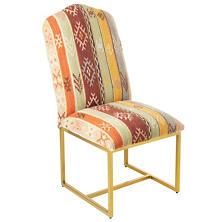 Aztec Kilim Dining Rug Chair