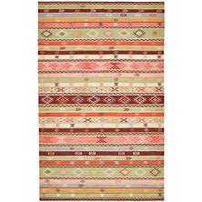 Aztec Kilim  Woven Wool Rug