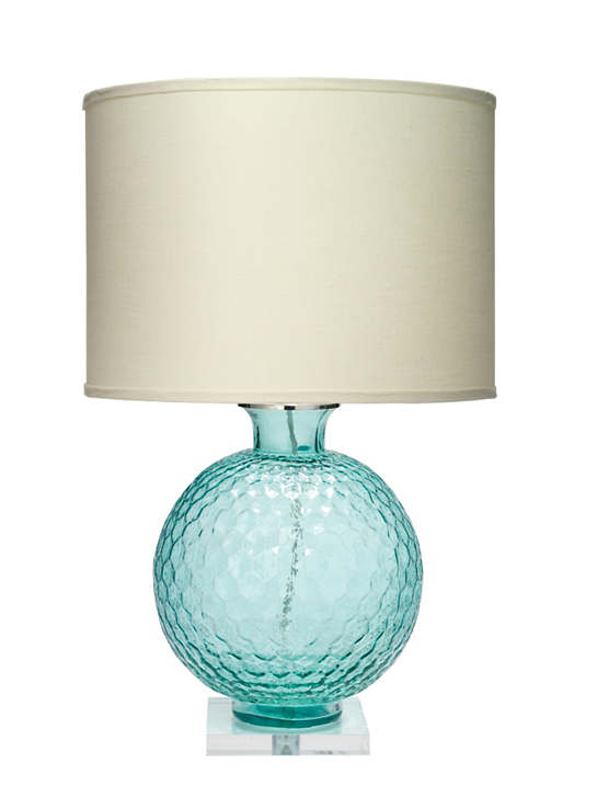 Azure Glass Table Lamp
