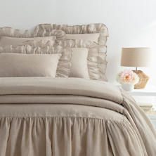 Savannah Linen Gauze Natural Bedspread