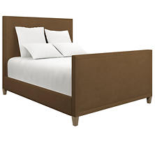 Velvesuede Camel Colebrook Whitewash Bed