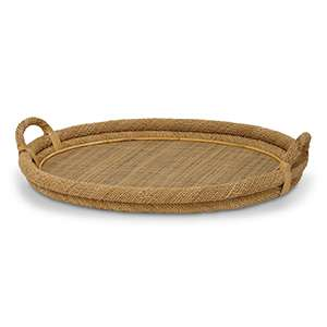 Natural Rope Top Tray