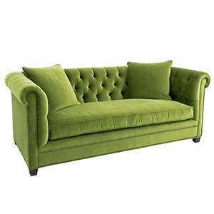 Velvesuede Evergreen Richmond Sofa