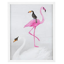 Balancing Birds  Wall Art