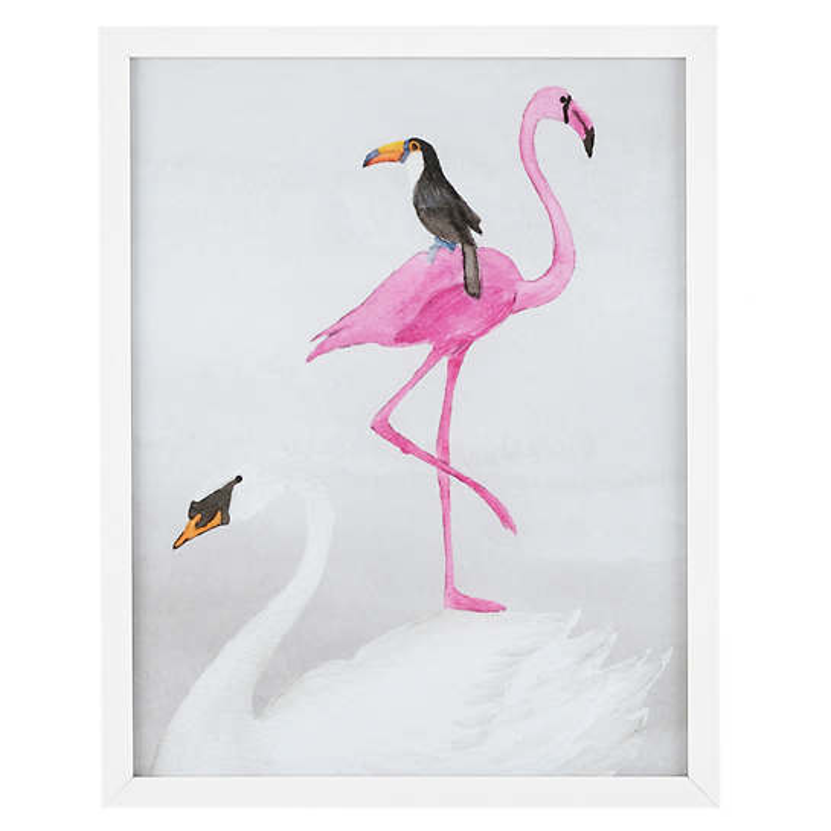 Balancing Birds  Wall Art