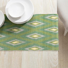Bamboo Evergreen Table Runner