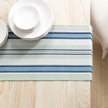 Barbados Stripe Table Runner