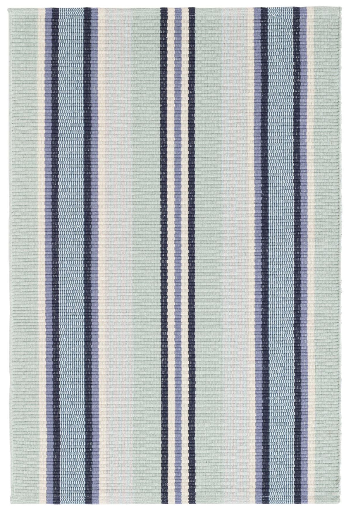 Barbados Stripe Woven Cotton Rug