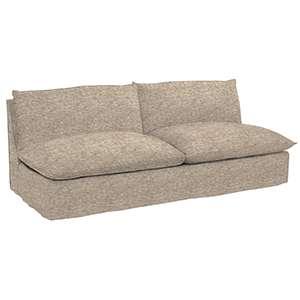 Bark Velvet Stone Hollingsworth Sofa