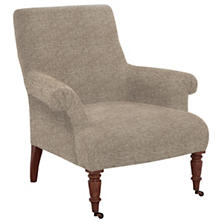 Bark Velvet Stone Barrington Chair