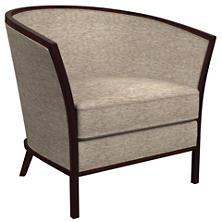 Bark Velvet Stone Bijou Chair