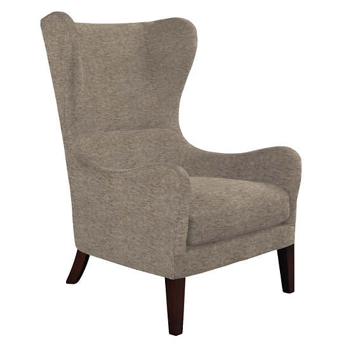 Bark Velvet Stone Mirage Tobacco Chair