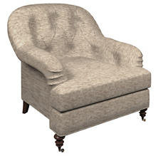 Bark Velvet Stone Norfolk Chair