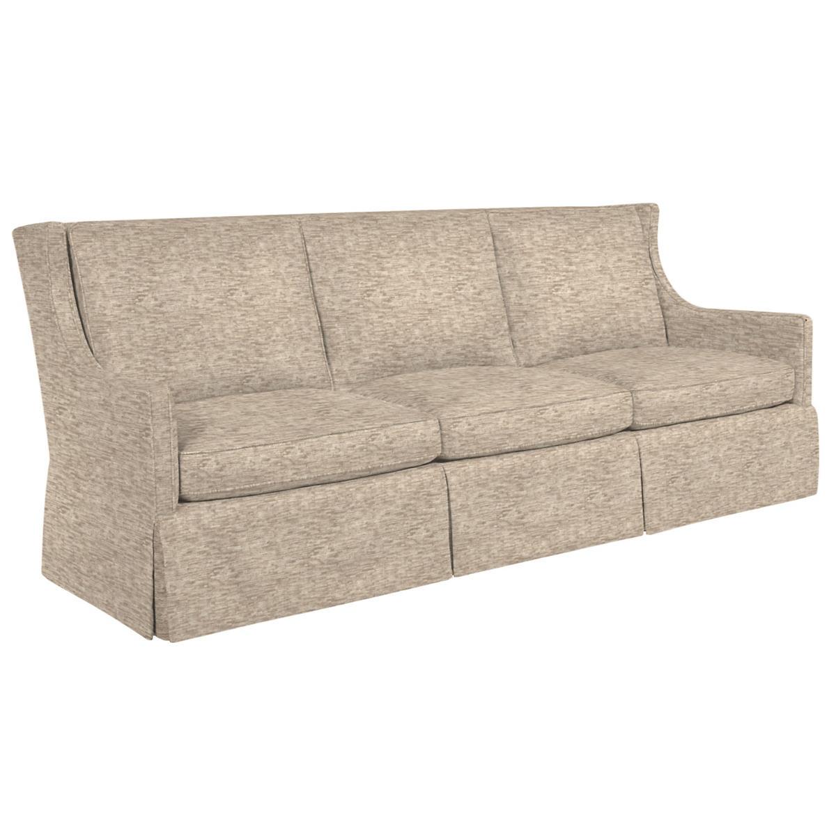 Bark Velvet Stone Toulouse Sofa