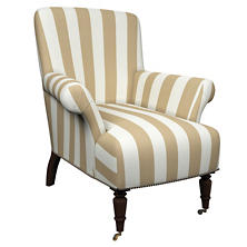 Alex Linen Barrington Chair
