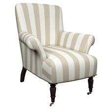 Alex Pearl Grey Barrington Chair