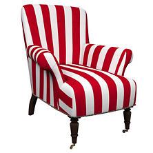 Alex Red Barrington Chair