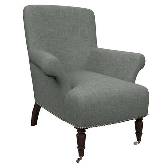 Canvasuede Ocean Barrington Chair