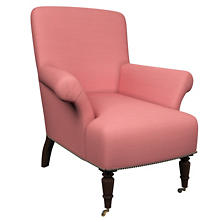 Estate Linen Coral Barrington Chair