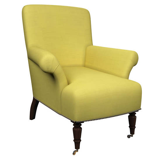 Estate Linen Citrus Barrington Chair