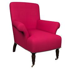 Estate Linen Fuchsia Barrington Chair