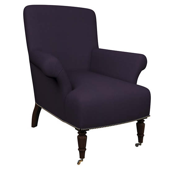 Estate Linen Indigo Barrington Chair